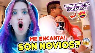 SON NOVIOS?! 😱😍24 HORAS ESPIANDO A JENNY Y RAEL!| Leyla Star 💫