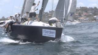 Aberdeen Asset Management 2014 Farr 40 NSW State Title- Day 3 video