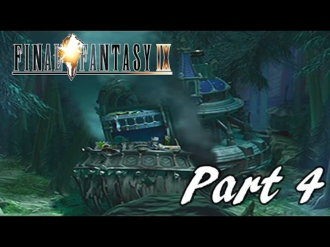 Final Fantasy IX HD Walkthrough Part 4 - Prima Vista Crash Site