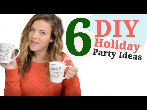 6 Cheap & Easy DIY Holiday Party Ideas | Tay from Millennial Moms