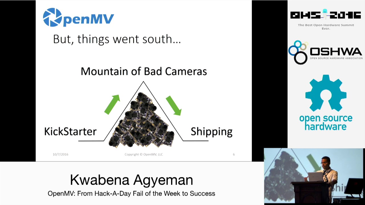 An interview with Kwabena Agyeman, co-creator of OpenMV and