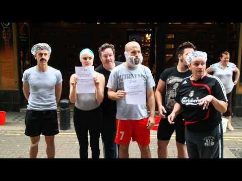 ONCE Musical London- Ice Bucket Challenge
