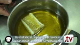 BAKALAO PIL PIL con Fernando Canales