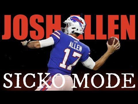 Josh Allen || SICKO MODE || Rookie Highlights 2018 HD