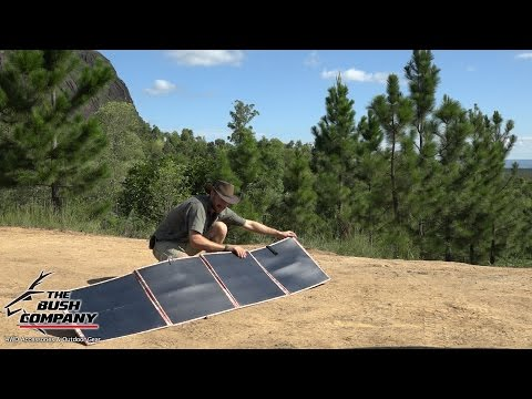 200W Folding Solar Panels Review  - The Bush Company