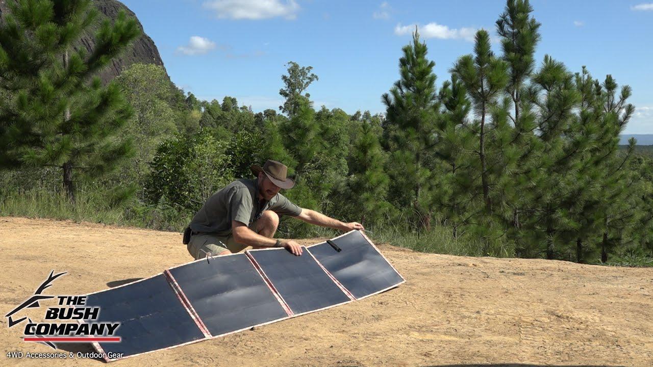 200W Folding Solar Panels Review - The Bush Company