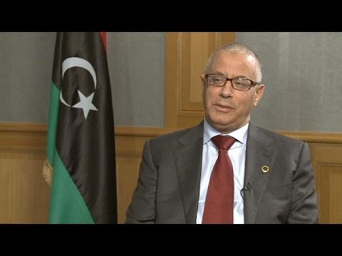 Ali Zeidan, PM of Libya tells euronews he hopes his government won't be forced to take action to...