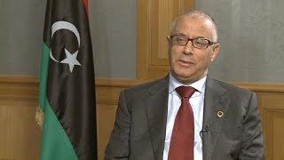 Ali Zeidan, PM of Libya tells euronews he hopes his government won