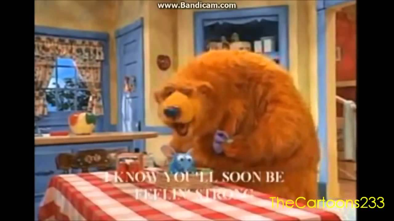 Bear in the Big Blue House Picture of Health - YouTube