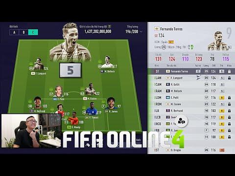 FIFA ONLINE 4: Test TORRES ICON +5 Vs Siêu Đội Hình CHELSEA Nghìn Tỷ & Đi Chợ, Đập Thẻ Tấu Hài