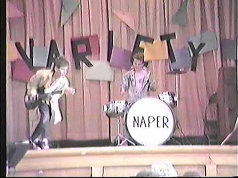 Naper Elementary School Talent Show 1988   Dokken Burning Like a Flame