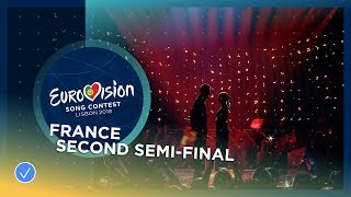 Madame Monsieur - Mercy - LIVE - France - Second Semi-Final - Eurovision 2018