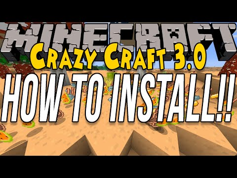 how-to-install-crazy-craft-3.0-(install-the-crazy-craft-modpack!!)