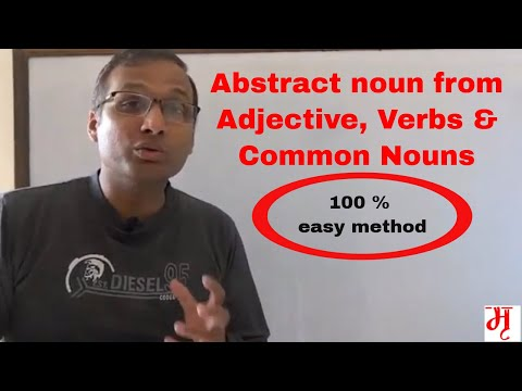 Making nouns and verbs into adjectives
