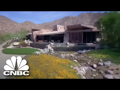 Check Out The $11.9M Vacation Home Of Hollywood Producer | Secret Lives Super Rich | CNBC Prime