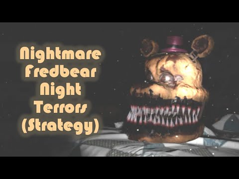 NIGHTMARE FREDBEAR Night Terrors Level Strategy - FNaF VR: Help Wanted (PC VR)