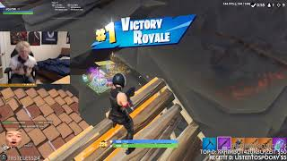xQc Finally Gets His First Victory Royale | Fortnite