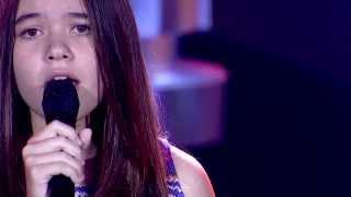 The Voice Kids Thailand - ซ่า วาเนสซ่า - Desperado - 9 Feb 2014