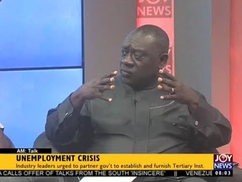 Unemployment Crisis - AM Talk on Joy News (8-8-17)