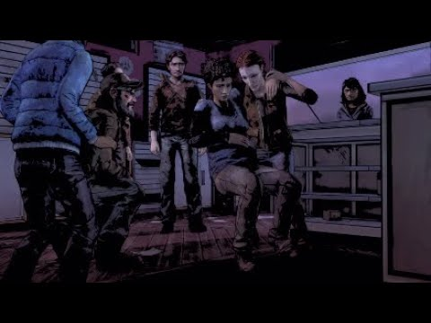 Baby delivery! The Walking Dead: The Telltale Definitive Series Season 2 episode 4 part 57  