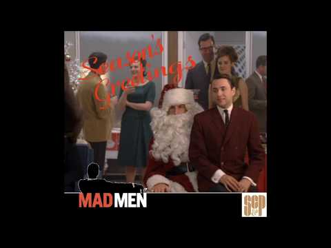 "Mad Men Christmas Mix 1: ""The Bottle Comes With The Suit"""