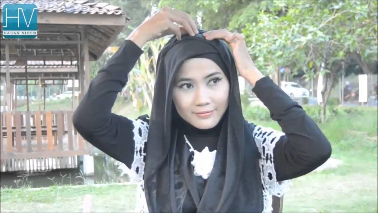 Cara Memakai Hijab Pashmina By Dian Pelangi Tutorial Hijab Pashmina