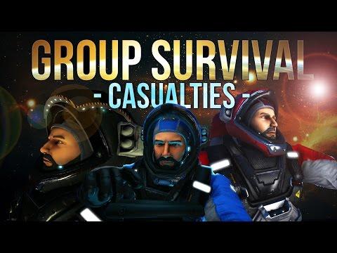 Space Engineers - Casualties -S2 Ep 2- Group Survival