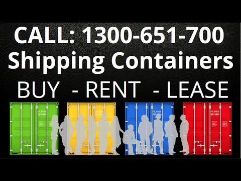 Sea Shipping Containers For Sale in Perth & WA - Buy, Rent or Lease
