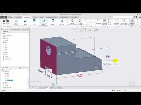 MBD workflow and enhancements in Creo Parametric 4.0