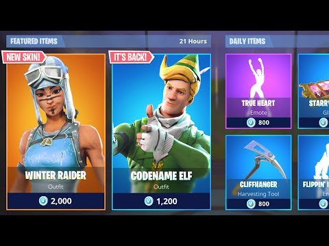 *NEW* ITEM SHOP SKINS COUNTDOWN! January 18th New Fortnite Skins LIVE! (Fortnite Item Shop Live) thumbnail