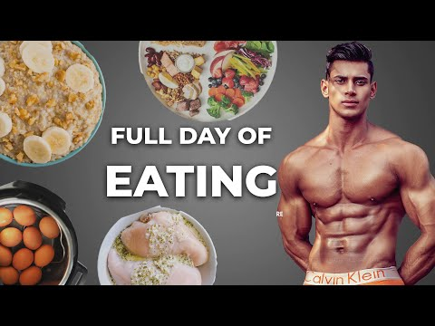 Full Day Of Eating Fit Manjeet | Budget Indian Bodybuilding Diet 🇮🇳 thumbnail