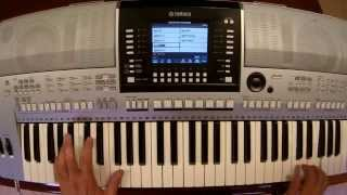 Avicii - Waiting for Love - piano keyboard synth cover by LiveDjFlo
