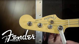 How To   Changing Bass Machine Heads (Vintage & Modern-Style)   Fender