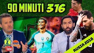 90 MINUTI 316 Real Madrid TV (18/06/2018) Rusia 2018 España 3-3 Portugal