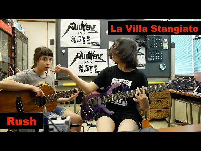 #Rush -  La Villa Strangiato - guitar + bass #ラッシュ #cover