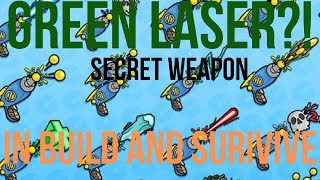 Weapon Combos! Green Laser?! | Build and Survive (Roblox)