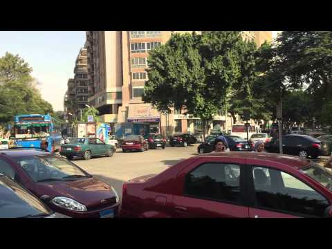 Sights & Sounds of Cairo town...mid-day in Maadi