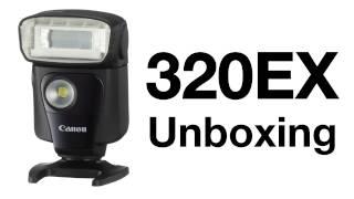 Canon Speedlite 320EX Unboxing