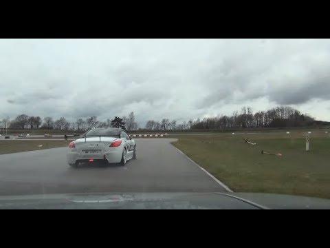 Chenevières - Porsche 928 GT - RCZ en pneus pluie - 22.03.14