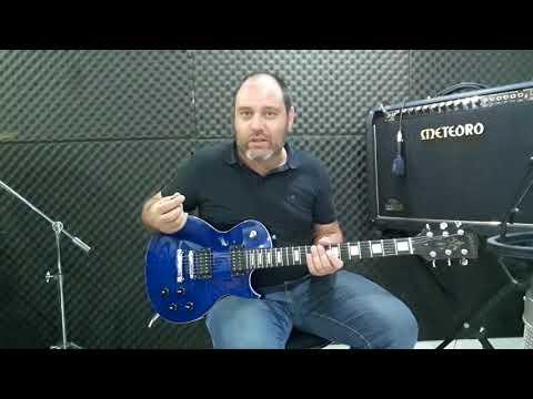 Guitarra Les Paul Golden - Território da Música