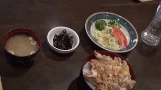 今週のランチは、マッハ親子丼 860円 ライダーズカフェMACHⅢ