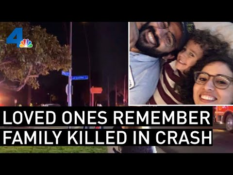 Loved Ones Remember Long Beach Family Killed in Crash | NBCLA