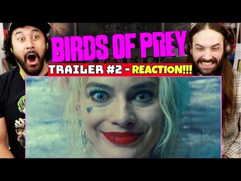 BIRDS OF PREY | TRAILER #2 - REACTION!!!