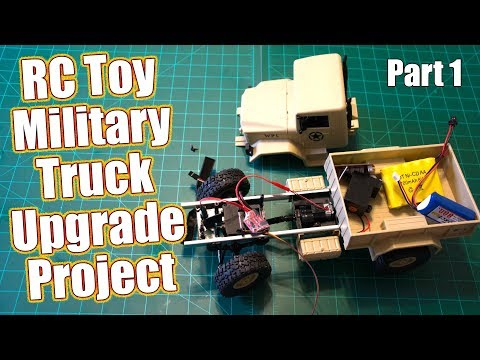 RC Toy Military Truck Gets A Hobby Grade Makeover - WPL Toys B-1 Project Series Part 1   RC Driver