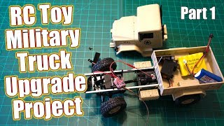 RC Toy Military Truck Gets A Hobby Grade Makeover - WPL Toys B-1 Project Series Part 1 | RC Driver