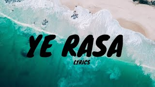 Ye Rasa - Ilayaraja, Yuvan Shankar Raja - MaaManithan (Lyrics)