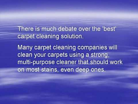 the best carpet cleaning solution youtube. Black Bedroom Furniture Sets. Home Design Ideas