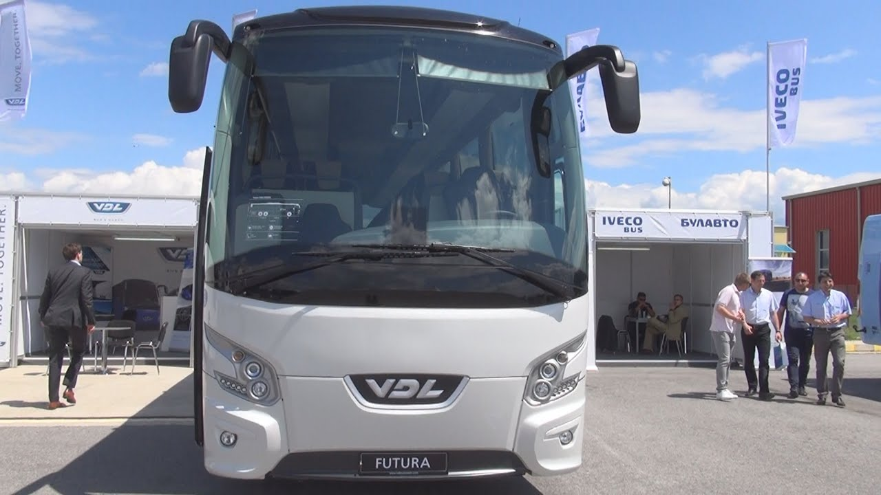 VDL Futura FHD2-139/460 Bus (2016) Exterior and Interior in 3D