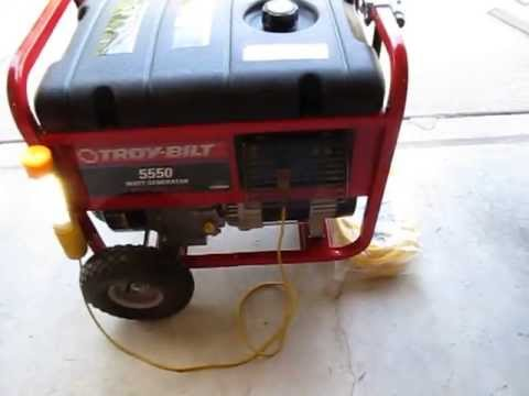 briggs and stratton generator 5550 watts 8550 starting watts manual