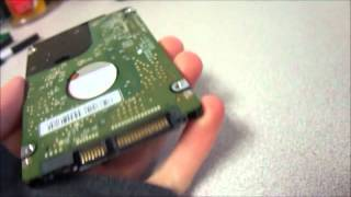 Western Digital 640GB WD6400BEVT 5400RPM SATA Laptop Hard Drive Tested Good